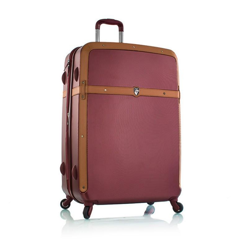 Heys HERITAGE Vintage skořepinový kufr, 76cm (Burgundy)