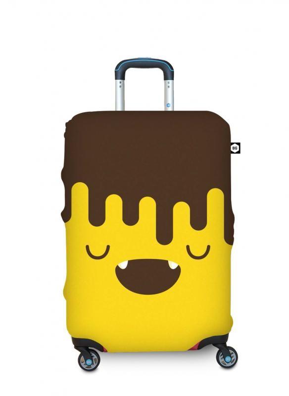 BG Berlin HUG COVER Obaly na kufr, vel. L - vzor Chocobanana